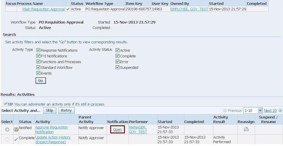 Procure To Pay Via Core Apps Oracle Apps Reference - Oracle r12 ap invoice approval workflow