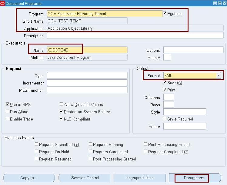 How To Create A Simple Xml Publisher Report Oracle Apps