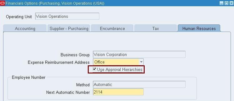 PO Position Hierarchy in Oracle Apps | Oracle Apps Technical